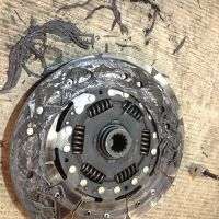 A burnt out clutch
