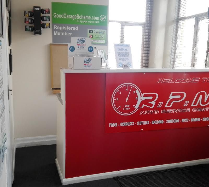 RPM's Reception area